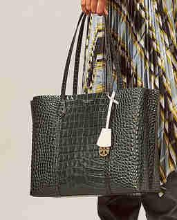 Skórzana torebka Perry
