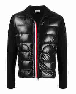 Czarna bluza z ociepleniem