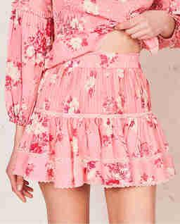 Růžová sukně Jennings