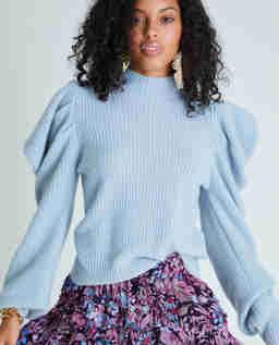 Niebieski sweter Potter