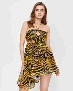 Sukienka w zebrę Katrina