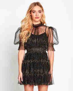 Czarna sukienka Augustine