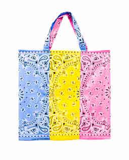 Kolorowa torba Bandana z bawełny