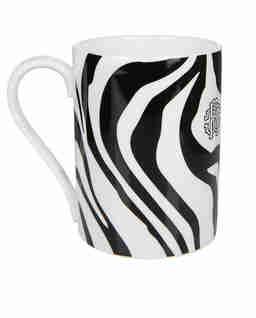 Kubek z motywem zebry