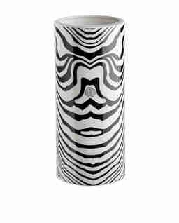 Wazon z motywem zebry