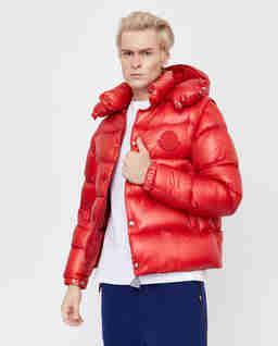 Czerwona kurtka Tarnos z odpinanymi rękawami
