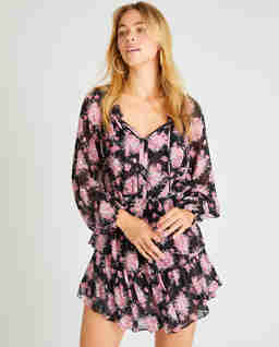 Sukienka w kwiaty Popover