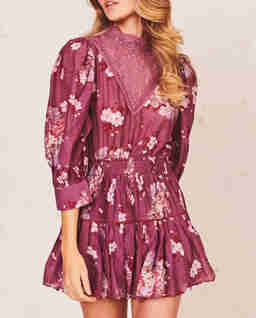 Fioletowa sukienka Viola