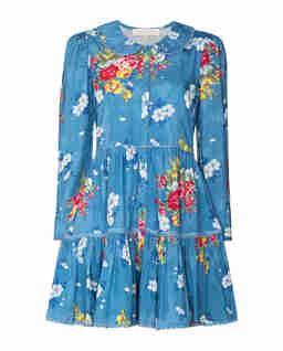 Niebieska sukienka Marzia