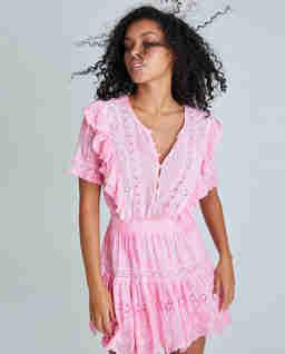 Różowa sukienka Sheldon