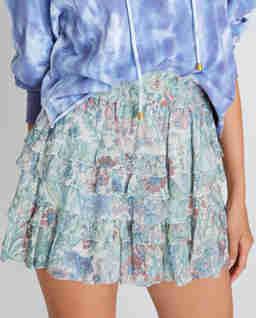 Niebieska spódnica Benicia