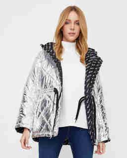 Dwustrona kurtka pikowana