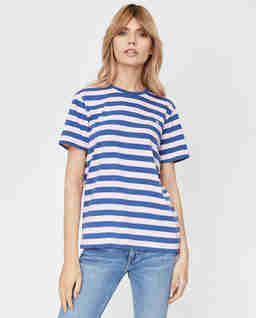 T-shirt w paski Regular Fit