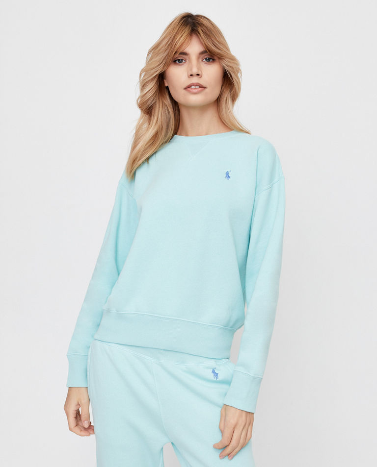 Niebieska bluza bez kaptura Polo Ralph Lauren