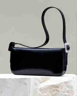 Czarna torebka na ramię Fujiko