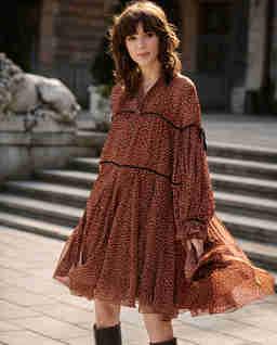 Sukienka z groszki JULIA