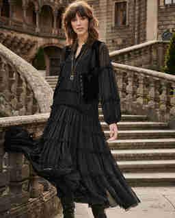 Czarna sukienka ANGELINA