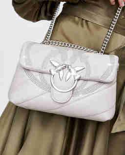 Pikowana torebka Love Mini Puff Maxi