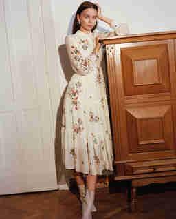 Jedwabna sukienka Vannes