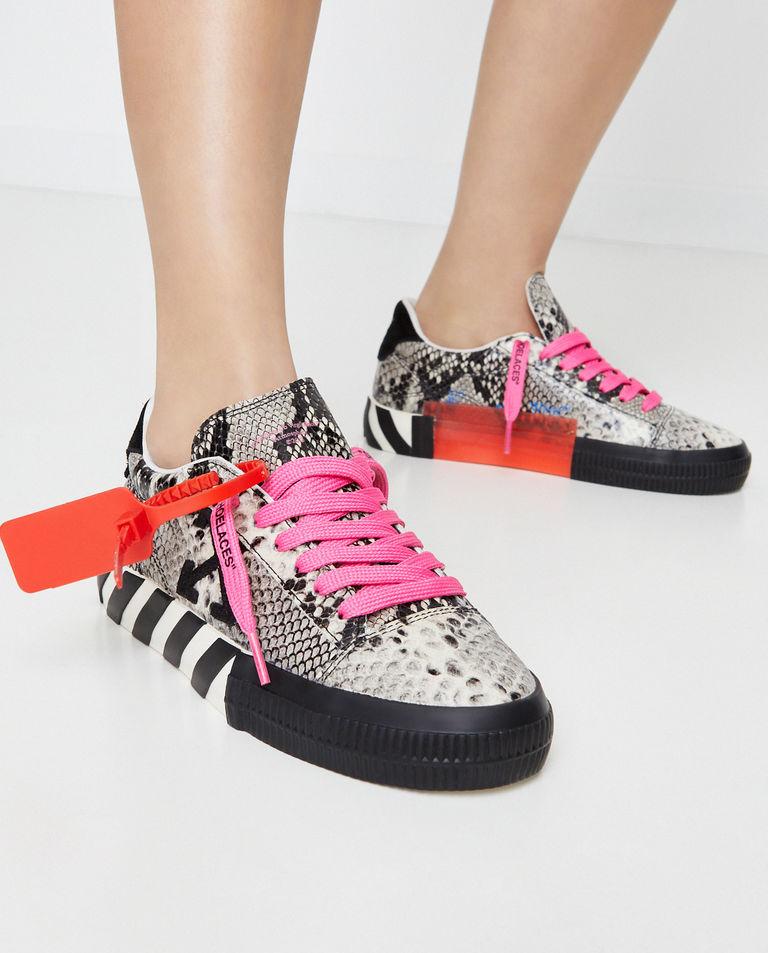 Sneakersy z efektem skóry węża Off-White