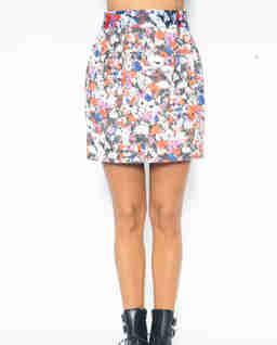 Spódnica w kwiatowy wzór Nomore Gonna