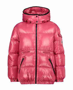 Różowa kurtka puchowa Badymore 4-10 lat