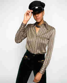 Elastyczna koszula vintage Sisma