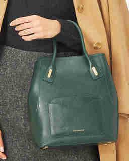 Zielona torebka na ramię Evasion