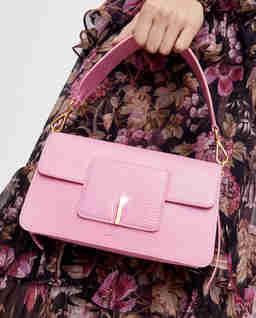 Różowa torebka Georgia