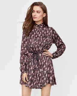 Kolorowa sukienka w kwiatowy wzór Fiore