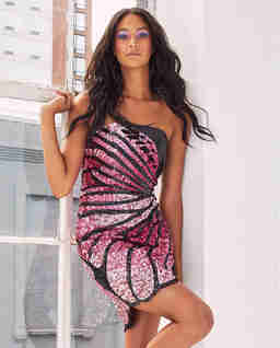 Sukienka z cekinami Arabelle