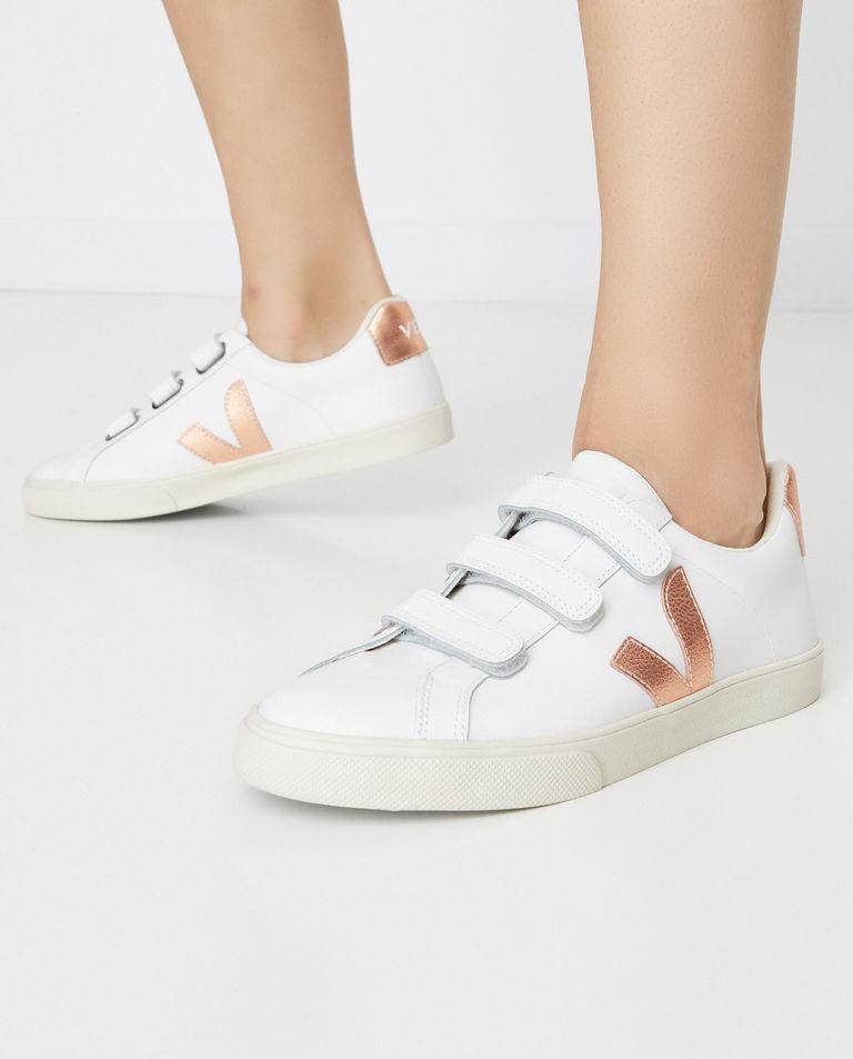 Sneakersy ze skóry Esplar 3-Lock Veja