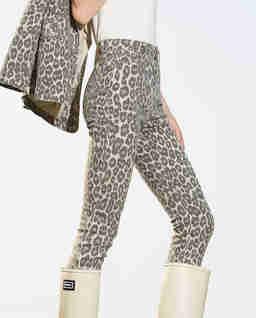 Spodnie w zwierzęcy print
