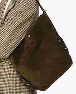 Brązowa torba na ramię Cocci