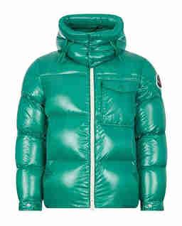 Zielona kurtka puchowa Vignemale