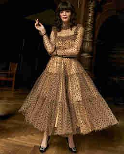 Tiulowa sukienka CARRIE