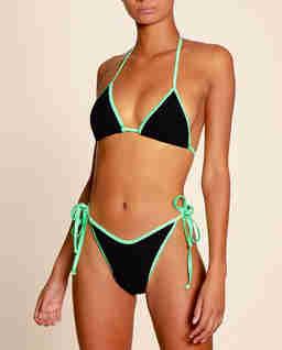 Dwukolorowe bikini Carmen