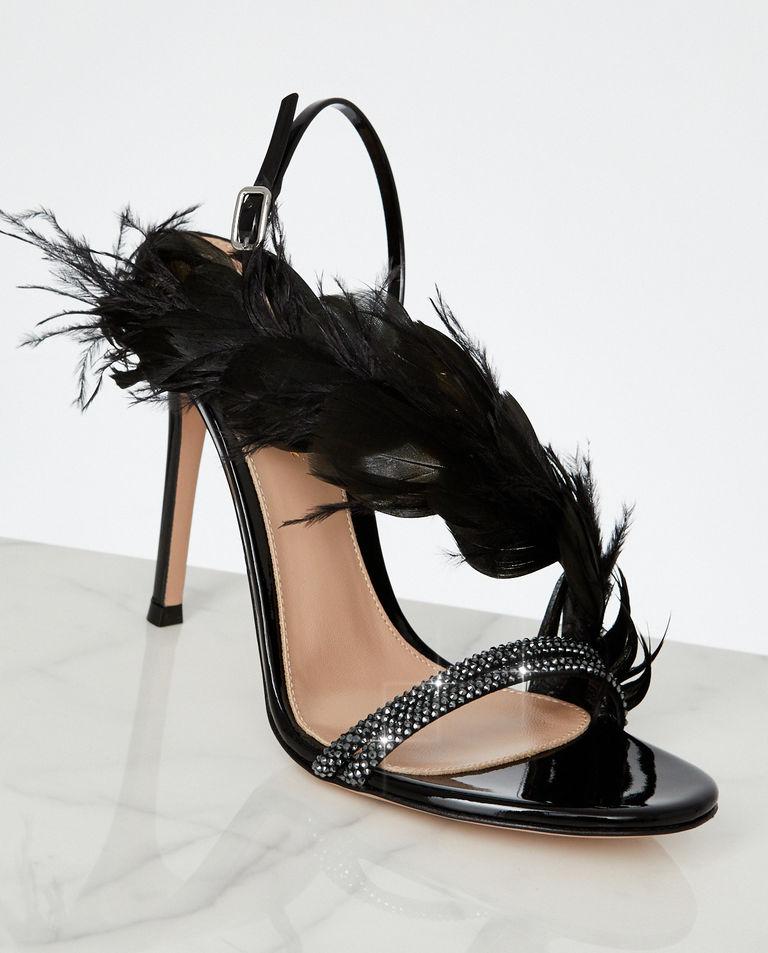Sandały ze zdobieniami Anthea Gianvito Rossi