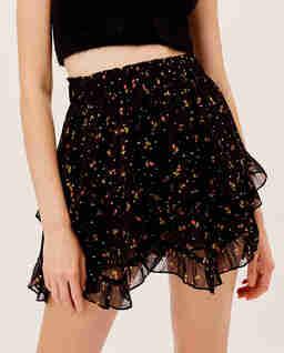 Czarna spódnica mini Willow