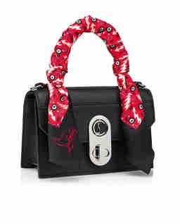 Skórzana torebka Elisa Top Handle Mini