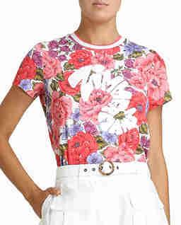 Koszulka Poppy z kwiatowym nadrukiem