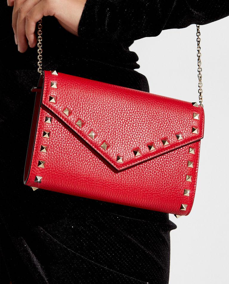 Czerwona torebka na łańcuszku Valentino