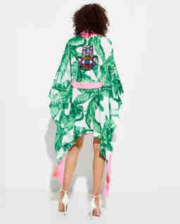 Krótkie kimono Jungle