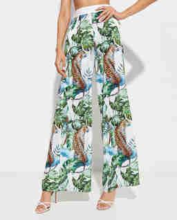 Szerokie spodnie Tropics