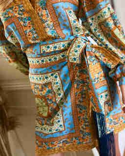 Spódnica mini z frędzlami Indie Fall