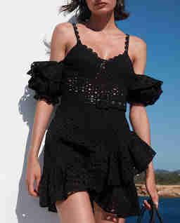 Czarna sukienka mini Denisse