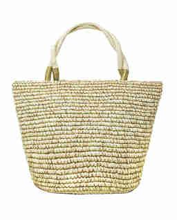Beżowa torba tote Dorado