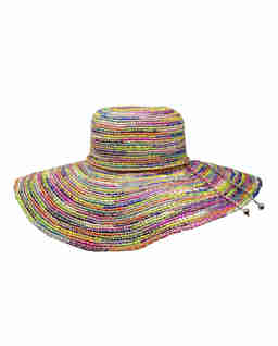 Kolorowy kapelusz Lady Ibiza