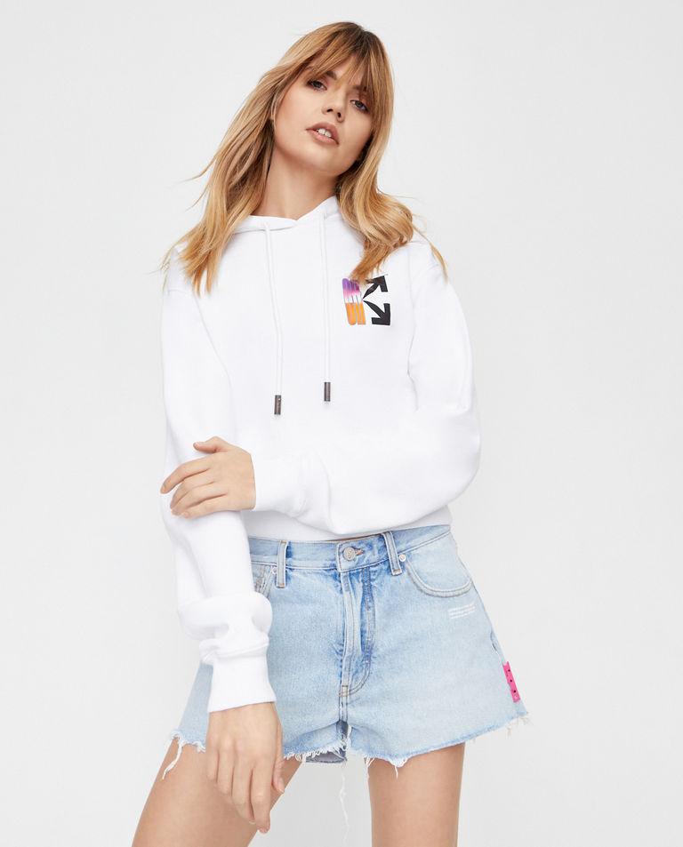Krótka bluza ze strzałami Off-White