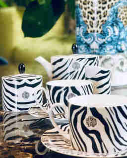 Zestaw 2 filiżanek do herbaty Zebrage